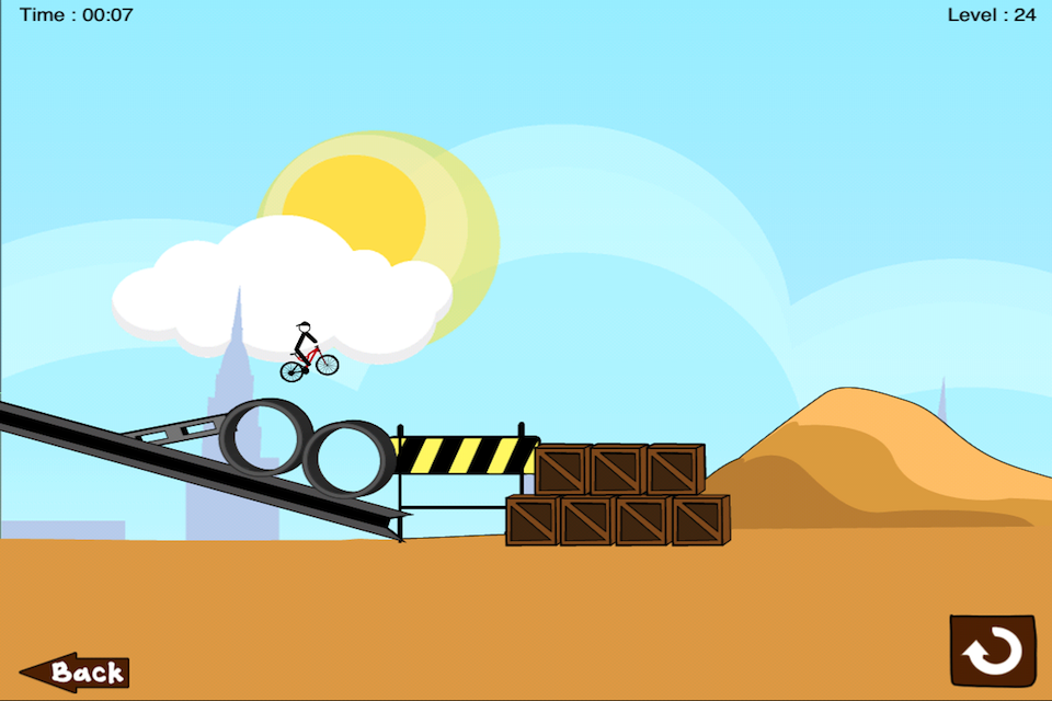 Screenshot Bicycle Doodle Lite